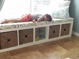 Narrow Storage Bench Ikea Bench Storage For Small And Narrow Lobby Home Inspirations