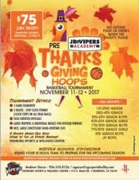 jr vipers academy pre thanksgiving hoops tournament what mcallen
