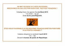 bureau de poste rennes votation citoyenne à la poste de république à rennes ce vendredi 3
