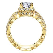 Yellow Gold Wedding Rings by Yellow Gold Engagement Rings Gabriel U0026 Co