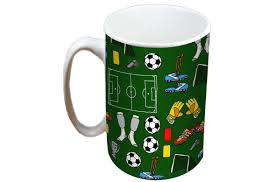 jayne football limited edition designer mug and coaster gift set