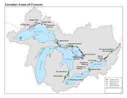 canadian map with great lakes archived environment and climate change canada acts