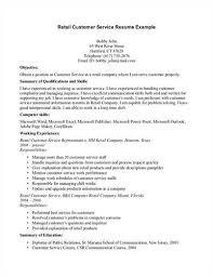 Resume Examples Retail by Sample Retail Customer Service U003ca Href U003d