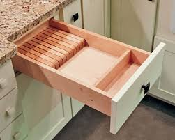 kitchen knife storage ideas knife block drawer insert built in divider for kitchen knives