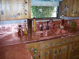 copper backsplash kitchen rigoro us