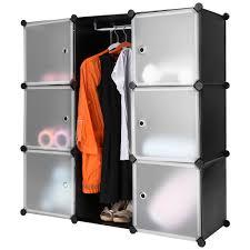 langria storage organizer shelving closet wardrobe rack 9 cube