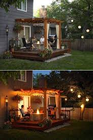 Pergola Deck Designs by Best 25 Small Decks Ideas On Pinterest Simple Deck Ideas Small