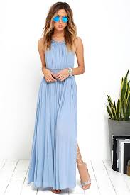 lulus resort life light blue lace maxi dress lined to mid thigh