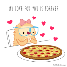 sloth valentines day card artists on animation gif find on gifer