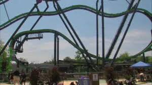 Six Flags Connecticut The Joker U0027 Ride Reopens At Six Flags Great Adventure After