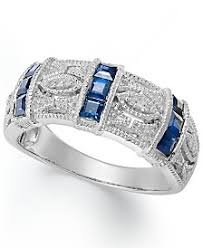 saphire rings sapphire rings macy s