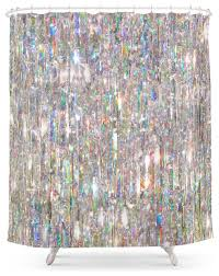 Flower Drop Shower Curtain Contemporary Shower Curtains Houzz