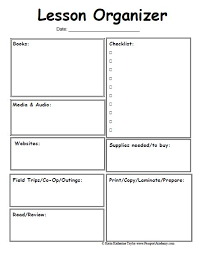 lesson plan beginner preschool lesson plan template by