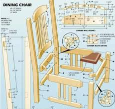 Dining Chair Plans Book Of Rocking Chair Plans Woodworking In Ireland By Emma