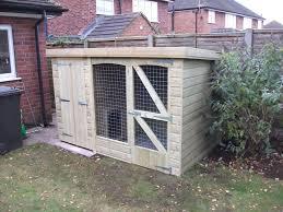standard dog kennels wooden kennels