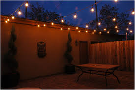 backyards cozy hanging lights for outside decorations 17