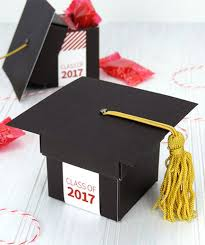 graduation boxes graduation party favors everyone will real simple