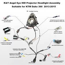 aliexpress com buy kt complete headlight for ktm duke 390 2013