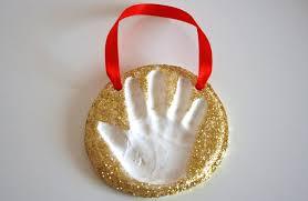 keepsake craft baking soda clay handprint ornaments play cbc