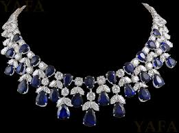 sapphire necklace diamonds images Graff platinum diamond and sapphire necklace jewelry no pin jpg