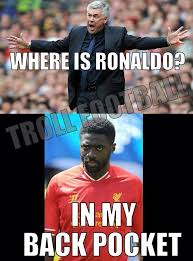 Kolo Toure Memes - kolo toure puts cristiano ronaldo in back pocket enjoy the best