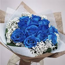 blue roses delivery dozen blue roses by flowers story london florists flower