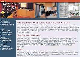 Online Kitchen Design Software 10 Free Kitchen Design Software To Create An Ideal Kitchen U2013 Home