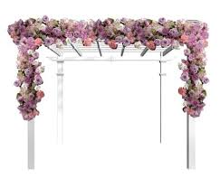 Wedding Arch Greenery Wedding Arch Flowers Free Picture Tutorials