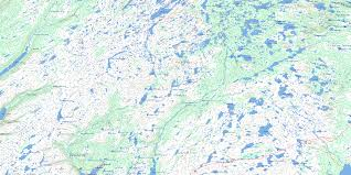 St Lawrence River Map Biscay Bay River Nf Free Topo Map Online 001k14 At 1 50 000
