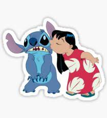lilo and stitch drawing stickers redbubble