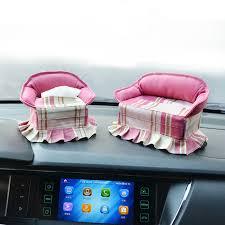 canap voiture creative canapé voiture papaer tissus boîte avec une serviette en