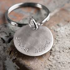 sterling key rings images Sterling silver custom stamped key ring all gifts olive cocoa jpg