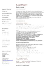 Sample Bank Resume by Bank Teller Resume Exciting Sample Resume For Bank Teller At