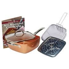 Perfect Toaster As Seen On Tv Seen On Tv Copper Chef 5 Pc Cooking Set