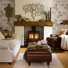 How To Decorate A Log Home 40 Fireplace Decorating Ideas Mantle Beams And Wood Burning