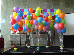 balloon delivery asheville nc the stage decoration includes a customised balloon arch with