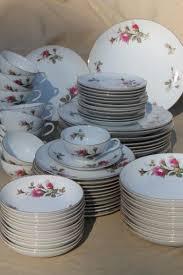 vintage china with pink roses vintage japan moss china pink roses porcelain dinnerware set