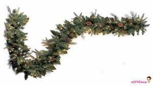 decorating battery operated garland pre lit garland prelit