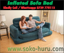 Inflatable Pull Out Sofa by Soko Huru D U0026t Collections Ltd