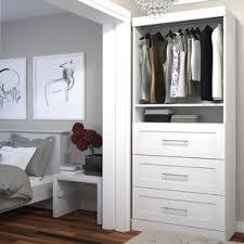 free standing closet systems you u0027ll love wayfair