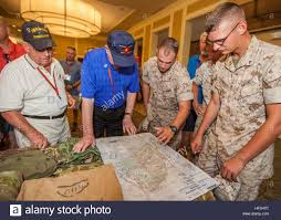 Camp Lejeune Map Veterans Of 4th Marine Division 4th Mardiv View A Map Of Iwo