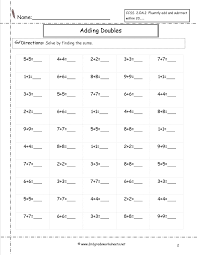 Oa Worksheets Ccss 2 Oa 2 Worksheets Addition And Subtraction Worksheets