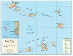 cape verde map world world and forces cape verde