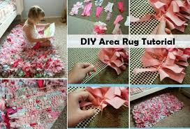 Diy Area Rug From Fabric Diy Area Rug Tutorial Diy Comfy Home