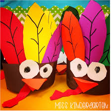 gobble gobble turkey headbands miss kindergarten