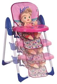 Graco Doll Swing High Chair Amazon Com Baby Alive Doll Deluxe High Chair Toy Toys U0026 Games