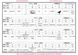 all worksheets tamil worksheets for primary 3 free printable