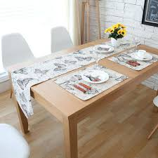 tablecloth for coffee table dining table runner black butterfly modern style rectangle home