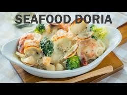 doria cuisine seafood doria recipe recipes delicious dishes and rice