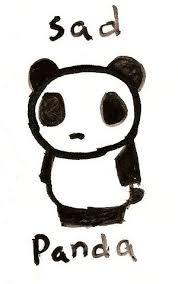 Sad Panda Meme - image 63381 sad panda know your meme